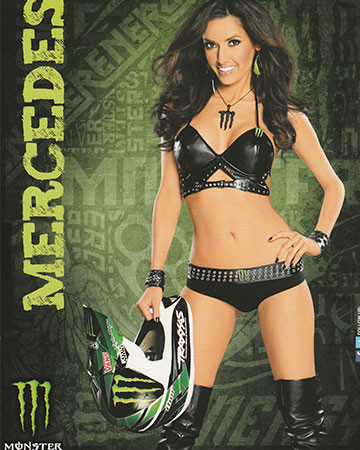 Mercedes Terrell Autographed Helmet poster for sale